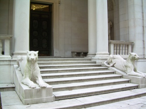 Morgan Library entrance