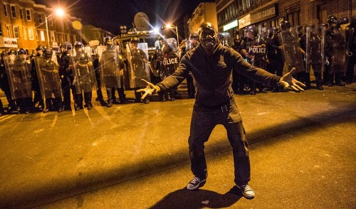 National Guard Activated To Calm Tensions In Baltimore In Wake Of Riots After Death Of Freddie Gray